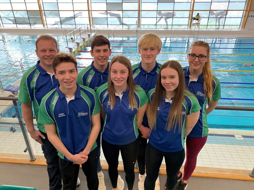 2019 British Swimming Champs - City of Norwich Swimmers