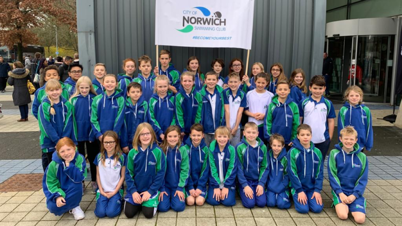 City of Norwich Swimming Club - National Junior League Team Photo